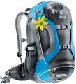 Жіночий велорюкзак Deuter Trans Alpine PRO 24 SL black-turquoise